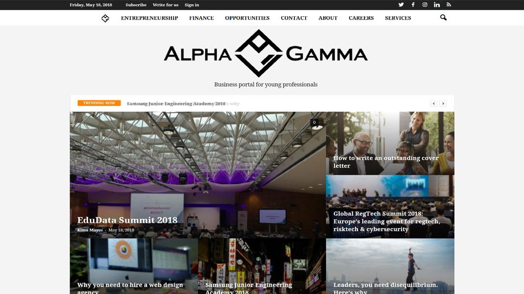 AlphaGamma.eu